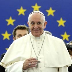 papa francisco parlamento europeo