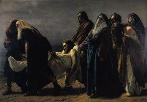 transporte de cristo al sepulcro