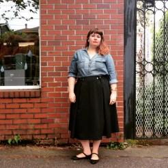 NSB - MMMay16 day 4 Jessica DoS5008 PBJ skirt