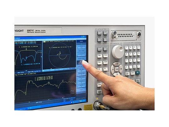 Keysight (formerly Agilent T&M) E5071C ENA Series Network Analyzer