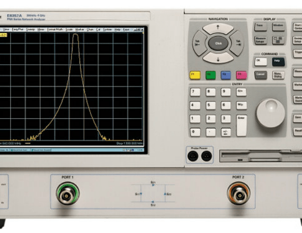 Keysight (formerly Agilent T&M) E8357A-015-USB PNA Network Analyzer 300 KHz To 6 GHz