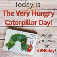 Excited to Enjoy Very Hungry Caterpillar Day! Giveaway Ends March 27th, 2017 #VHPDay