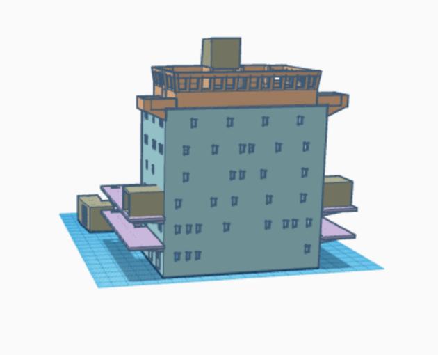 Superstructure of Maersk Alabama