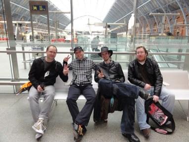 London St Pancras 3DS StreetPass Event with Yoshinori Ono (1)