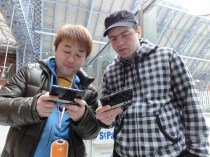 Stuart from Nintendo Scene in a Street Fight with Yoshinori Ono - I actually WIN (3)