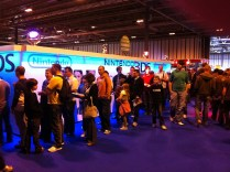 Distracted by StreetPass at Gadget Show Live