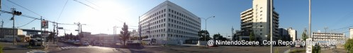 Panoramic Shot of Nintendo's HQ Building