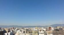 Kyoto Skyline from Karasuma Kyoto Hotel