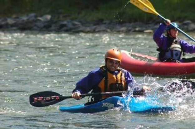 Kayaking the North Santiam River