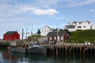 Halls Harbour in the Annapolis Valley is a working fishing community with lots of perks for tourists.