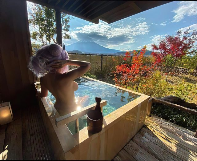 spa with a view