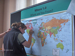 Column in search of america on a world map funnycolumns south carolina was asked this question recent polls have shown a fifth of americans cant locate the us on a world map why do you think this is gumiabroncs Images