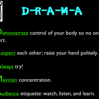 D-R-A-M-A Rules