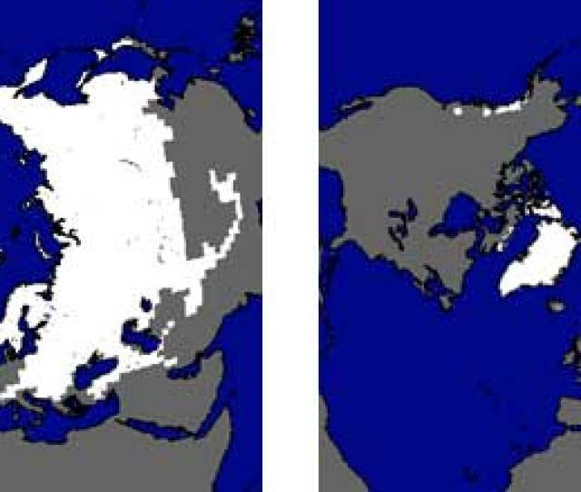Northern Hemisphere Average Snow Cover Extent For January Maximum And August Minimum