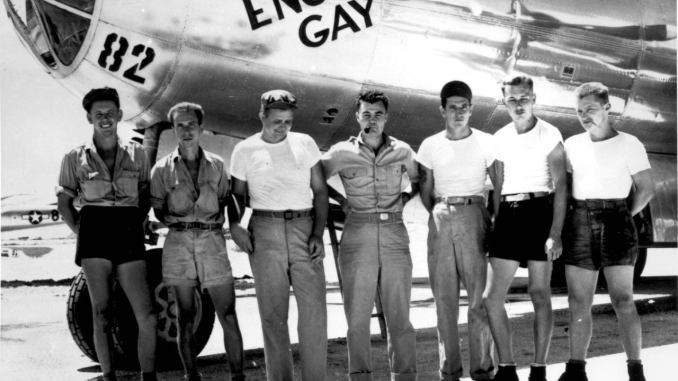 "Crew of the B-29 ""Enola Gay"""