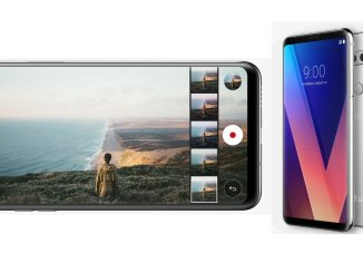 The new LG V30 smartphone