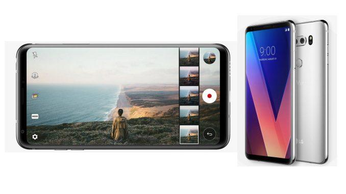 The new LG V30 smartphone