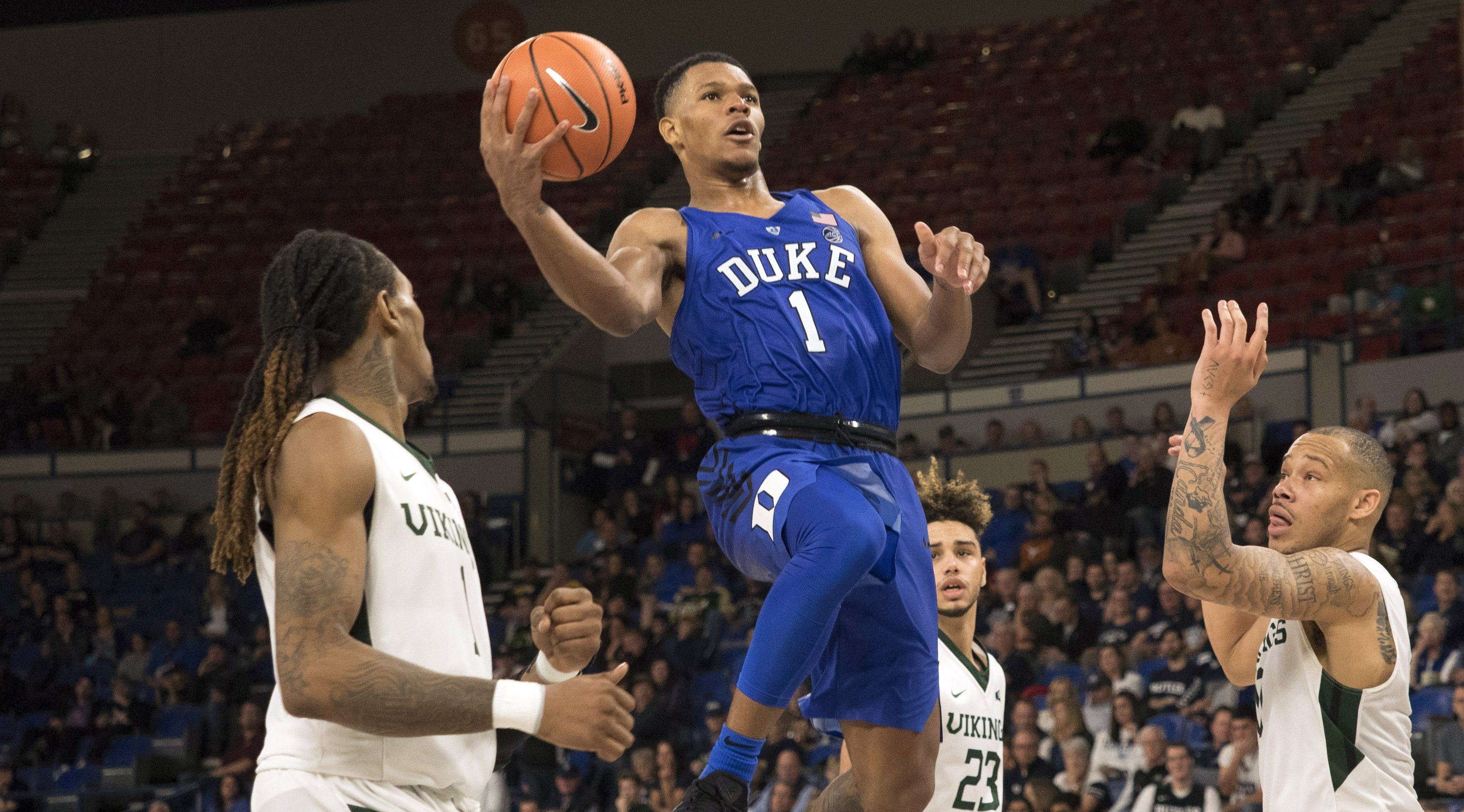 Marvin Bagley III leads No 1 Duke past Texas