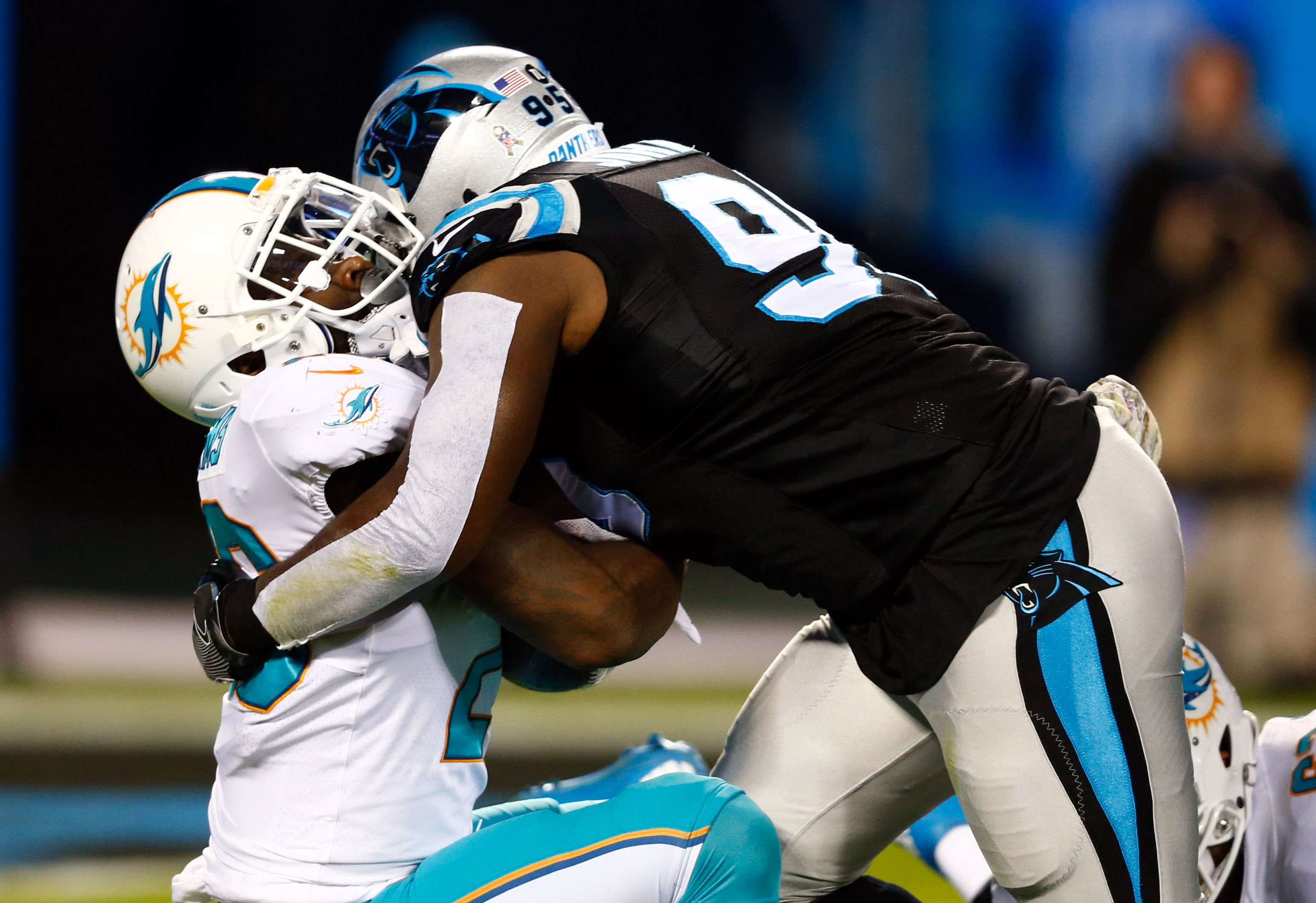 Panthers DE Johnson suspended for PEDs