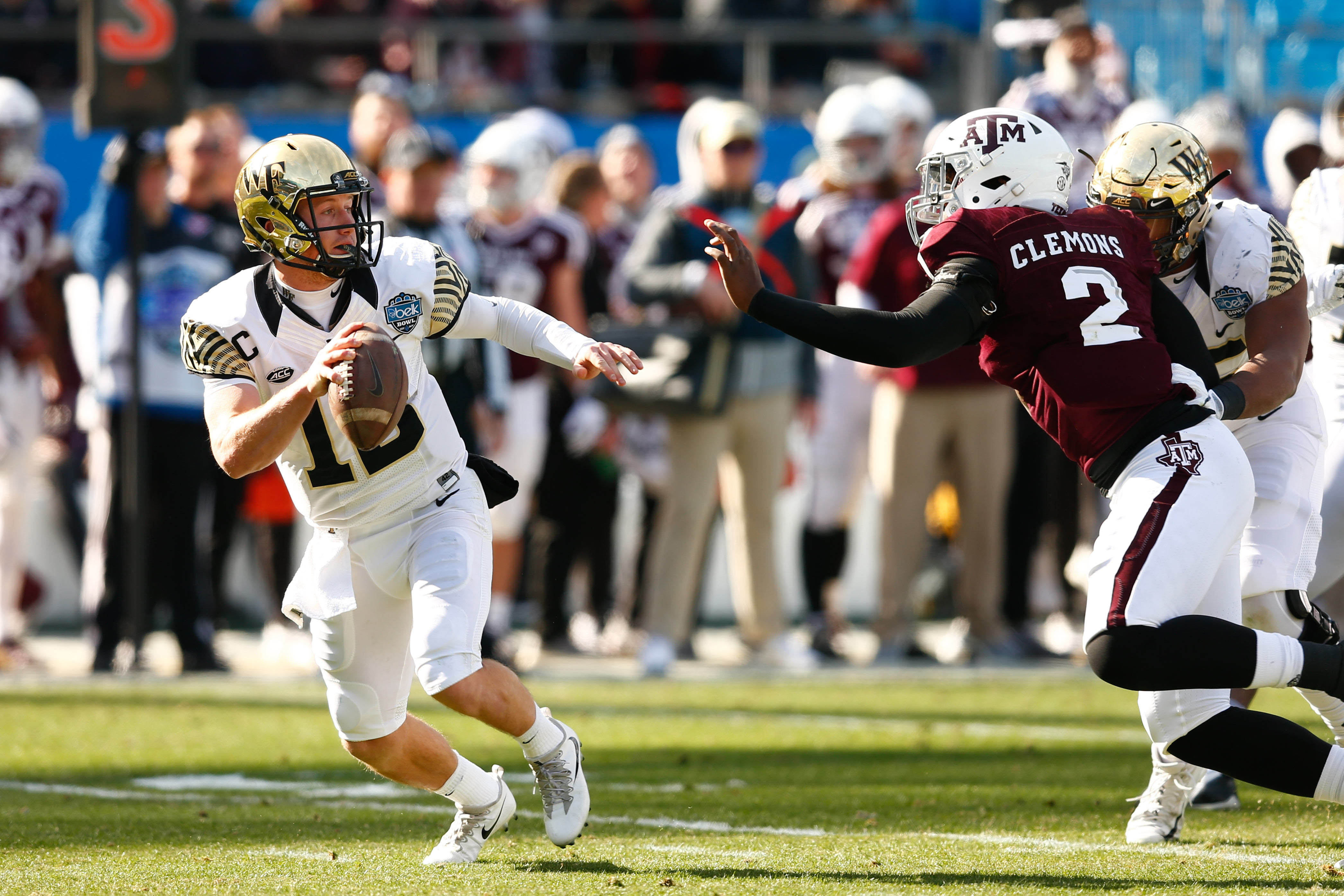 Texas A&M safety Armani Watts won't play in Belk Bowl