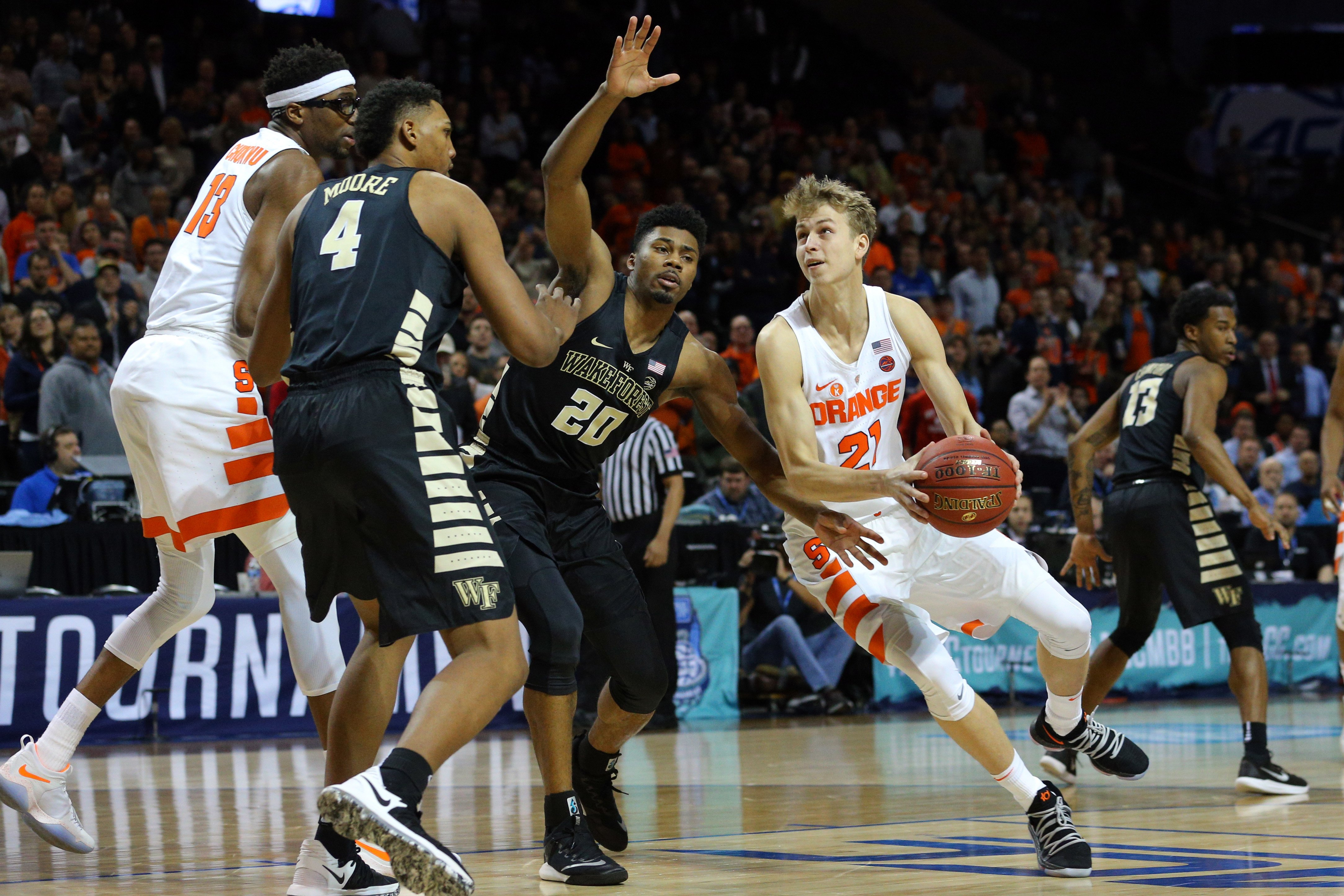 Vegas Play of the Day: Wake Forest vs. Syracuse