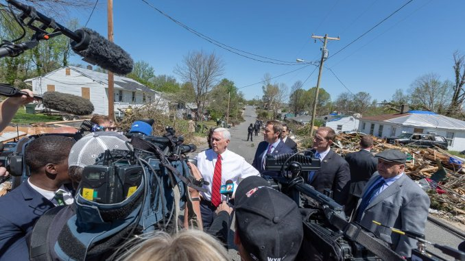 Pence Talks Tax Reform Local Politics In Triad And Charlotte The