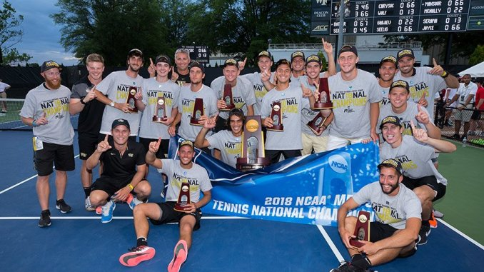 Image result for wake forest tennis national championship