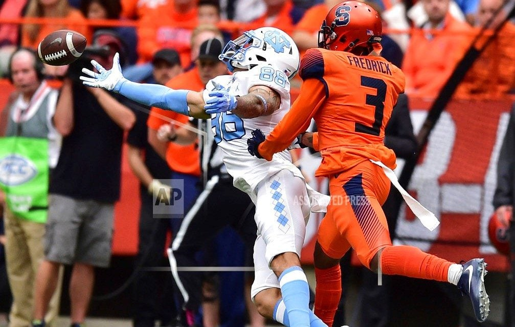 Perkins leads Virginia past North Carolina, 31-21 | AP sports