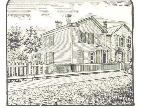 GENERAL GRANT'S OLD HOME ON FORT STREET