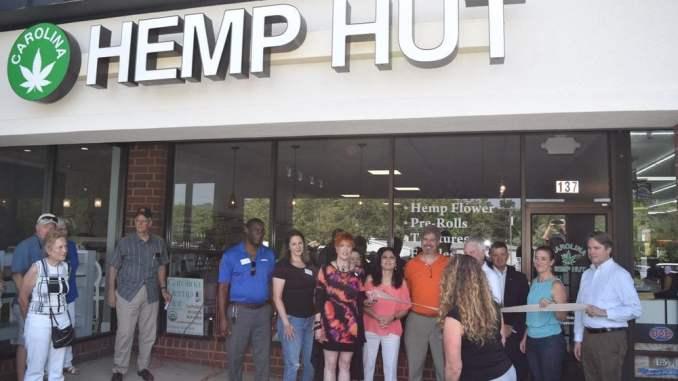 Carolina Hemp Hut - Ribbon Cutting Ceremony