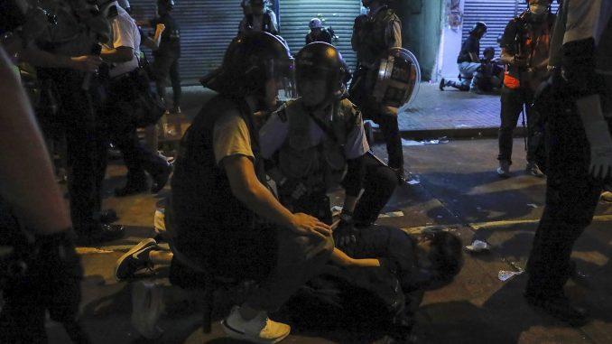 hong kong - protests