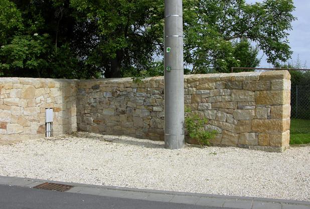 Arbeiten Natursteinmauern Marius Neuber
