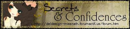 Forum Secrets & Confidences