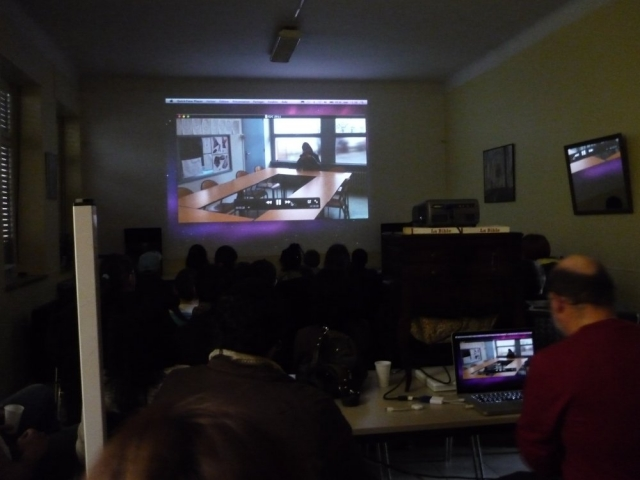 projection de vidéos