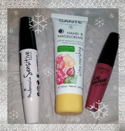 trio de produits santé naturkosmetik