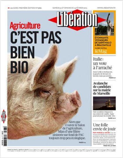 Libération Samedi 23 et dimanche 24 février 2013