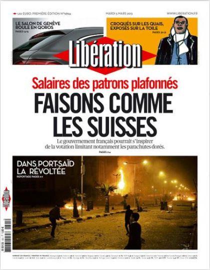 Libération Mardi 5 mars 2013