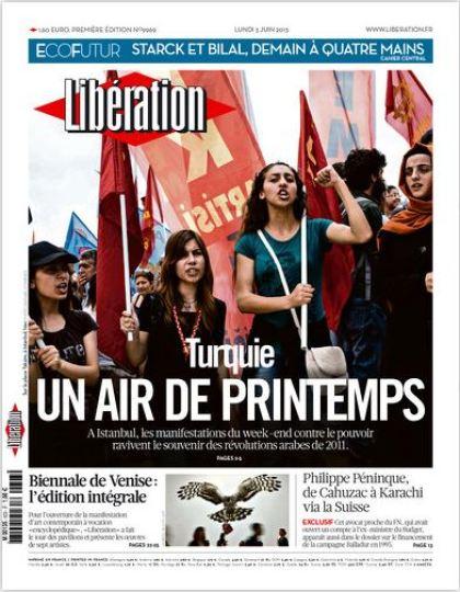 Libération Lundi 3 juin 2013