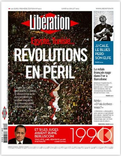 Liberation du Lundi 29 juillet 2013