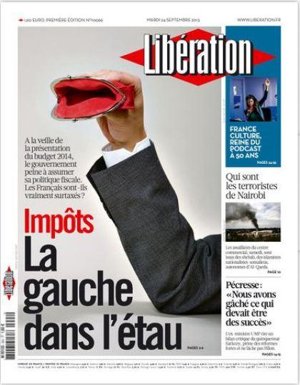 Libération Mardi 24 Septembre 2013
