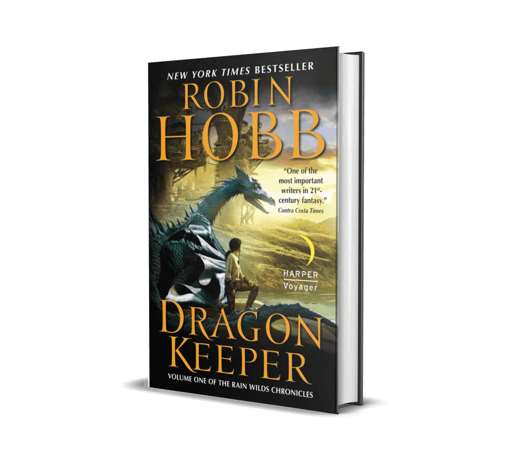 Book cover of Dragon Keeper by Robin Hobb