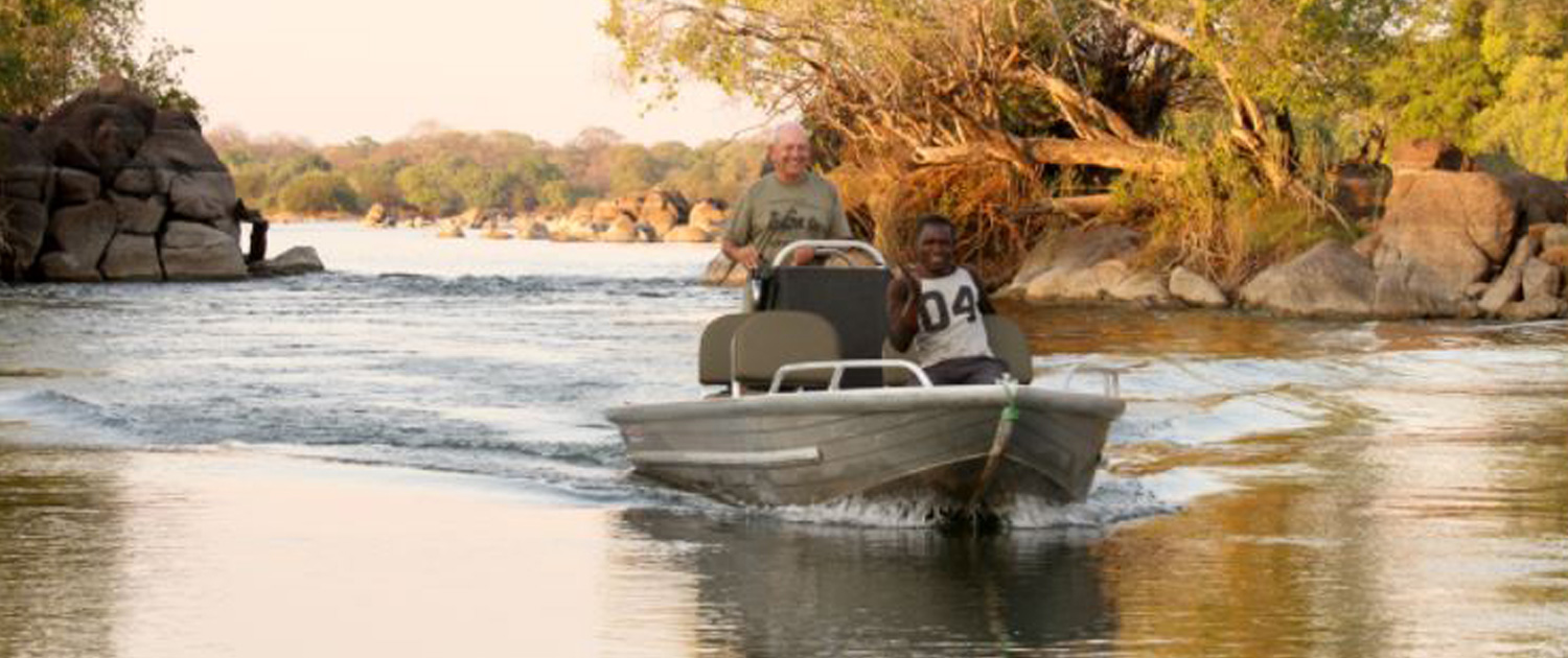 Boat ride - Nsonga Game Management & Lodges