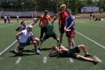 The winning team: 6 foot 7 Credit: Grant Phillips