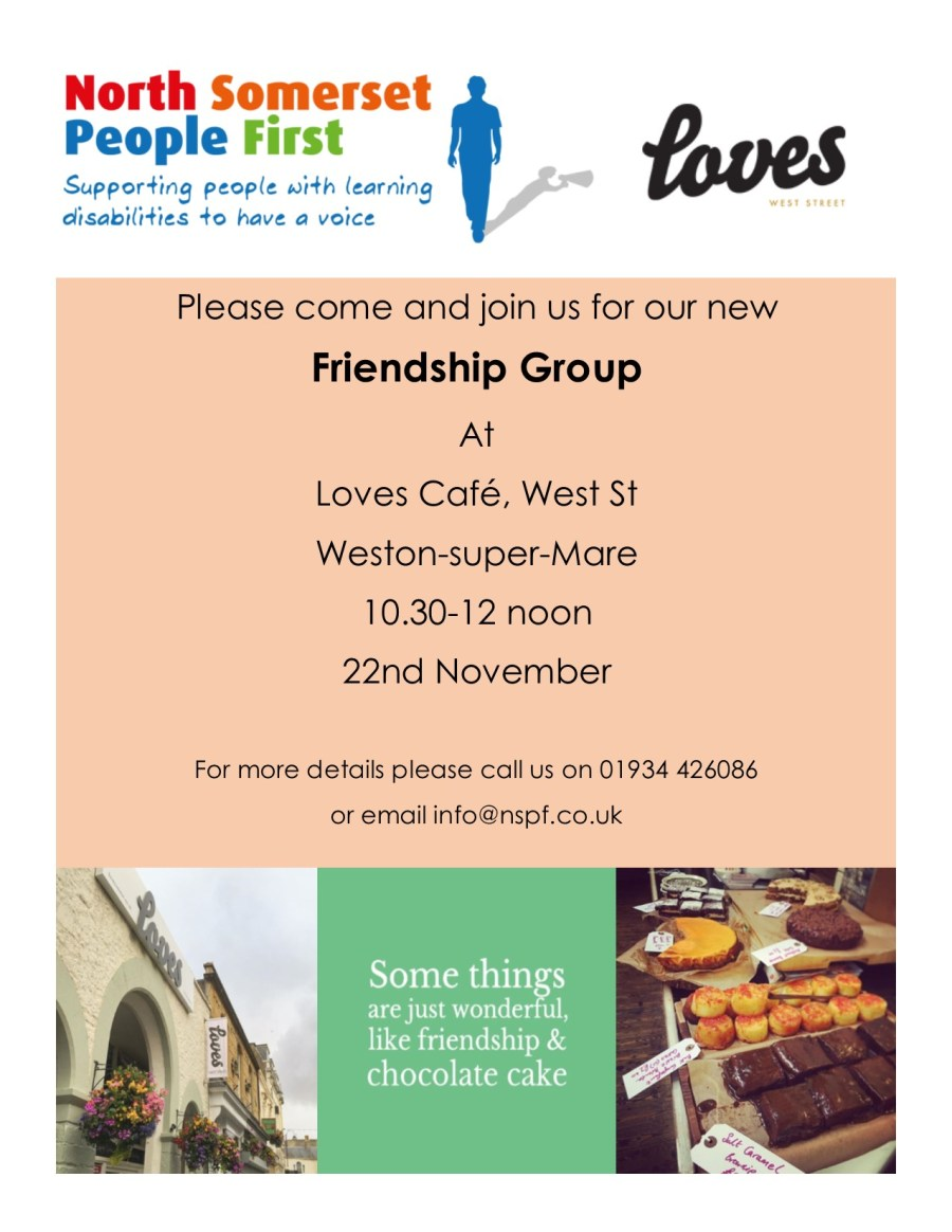 Loves Cafe Friendship Group