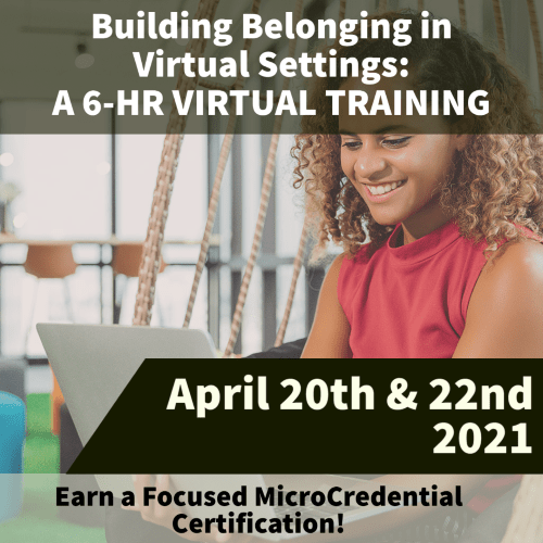 Building Belonging MicroCred April 2021