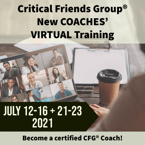Virtual Coaches Training July 2021