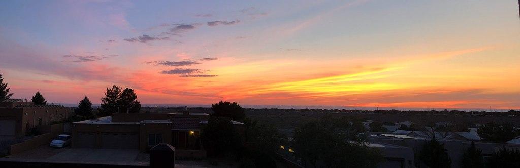 Albuquerque sunset june 21 2020