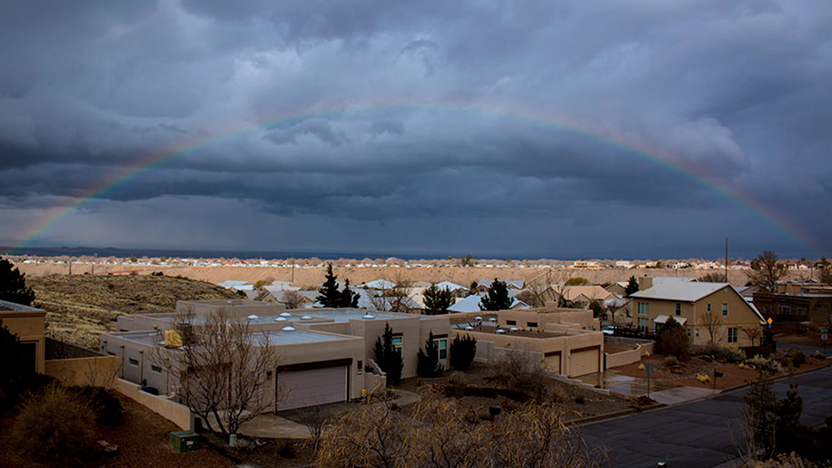 Rainbow over Albuquerque