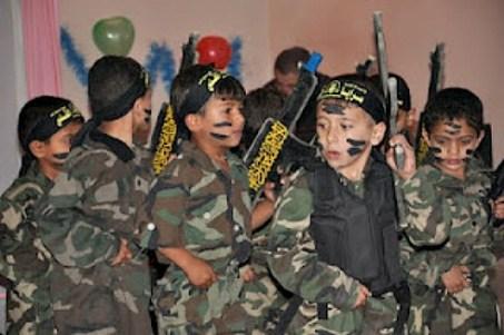Palestinian children taught to die at Islamic-Jihad-run kindergarten.jpg