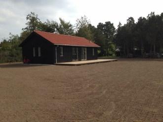 1200 m2 nyanlagt plæne i Tisvilde.